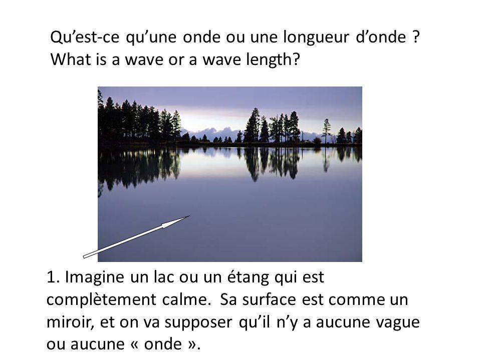 Qu'est-ce qu'une onde ou une longueur d'onde