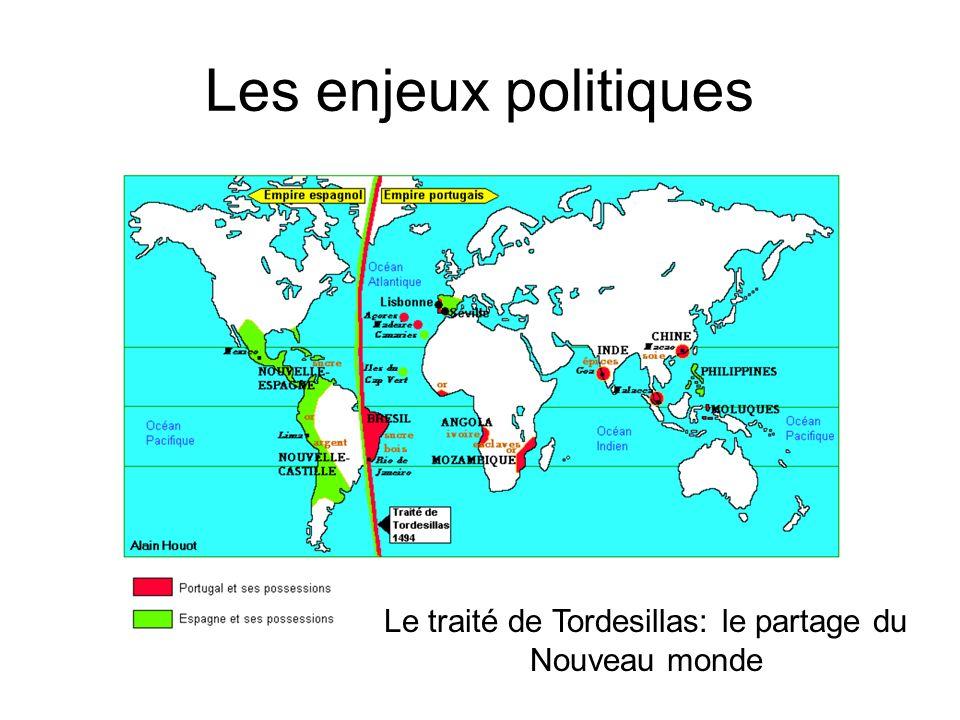 Le traité de Tordesillas: le partage du Nouveau monde