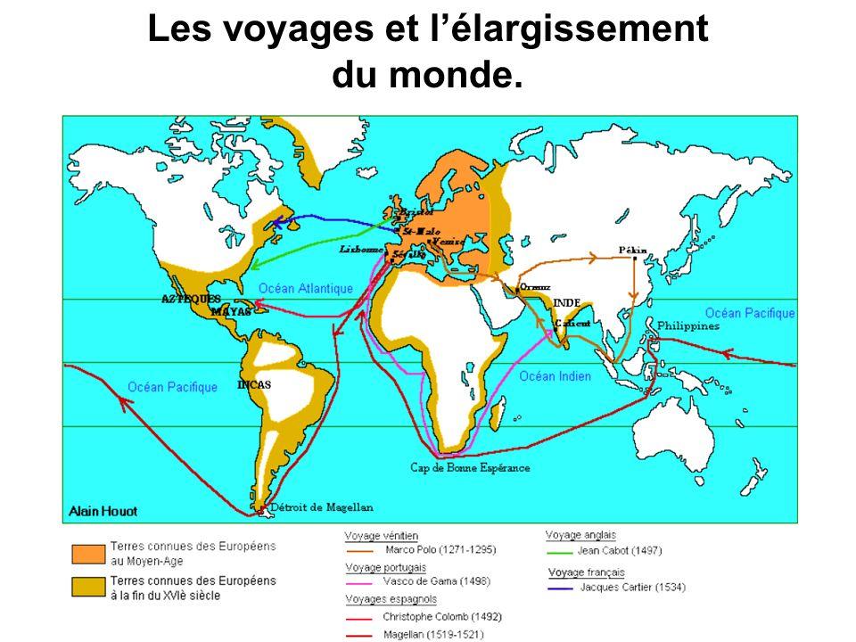 Les voyages et l'élargissement du monde.