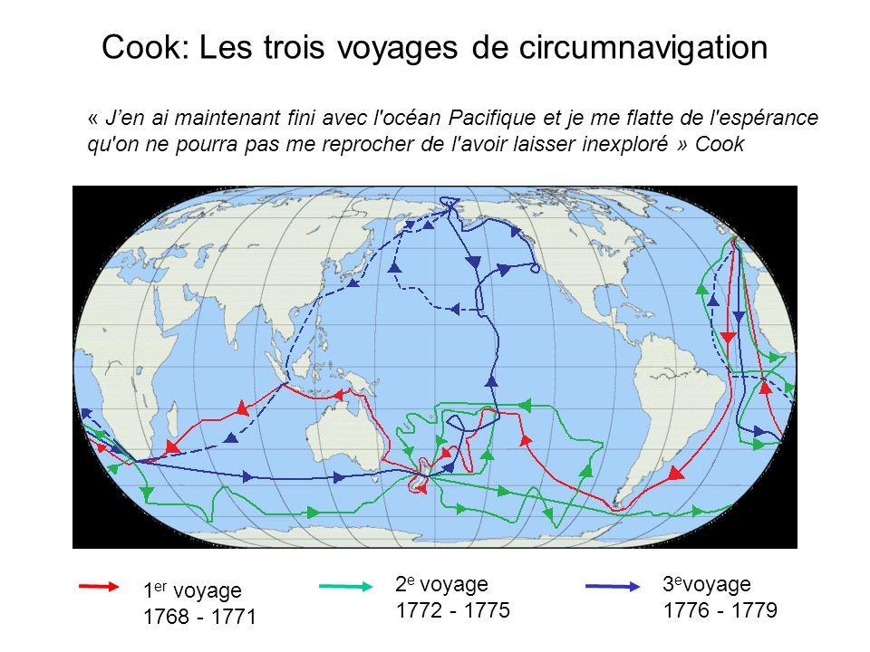 Cook: Les trois voyages de circumnavigation