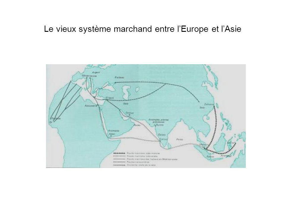 Le vieux système marchand entre l'Europe et l'Asie