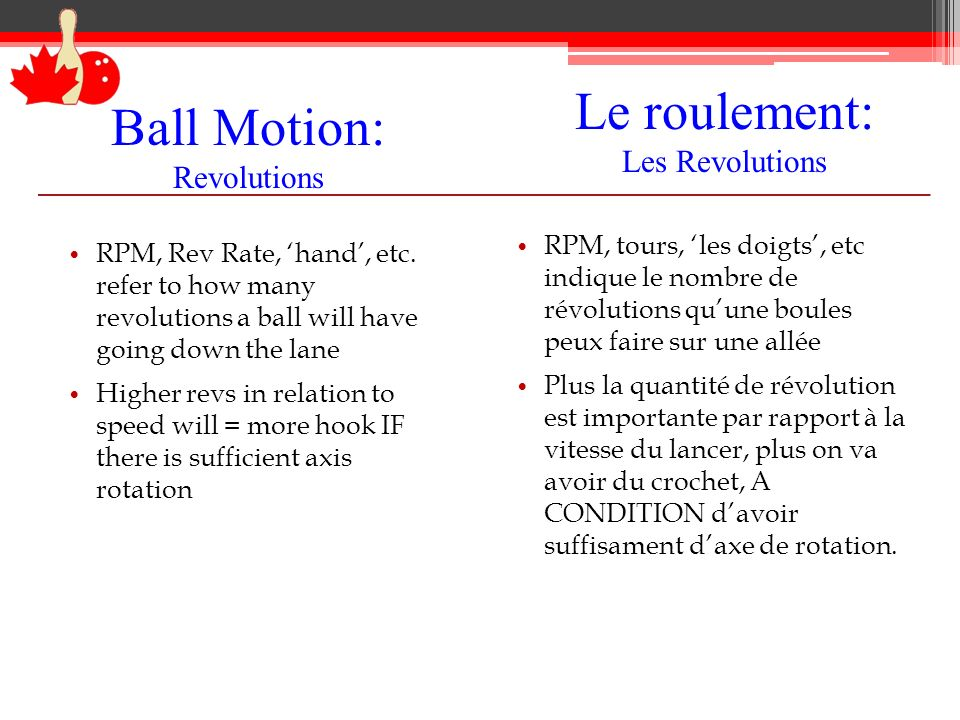 Ball Motion: Revolutions