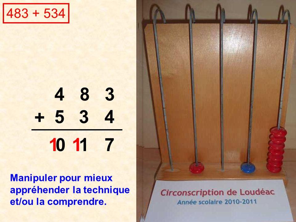 483 + 534 4 8 3. + 5. 3. 4. 1. 1. 1.