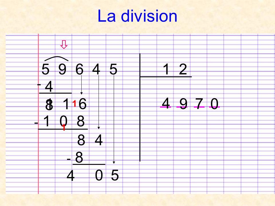 La division  5 9 6 4 5 1 2 - 4 8 1 1 6 4 9 7 1 - 1 0 8 1 8 4 - 8 4 5