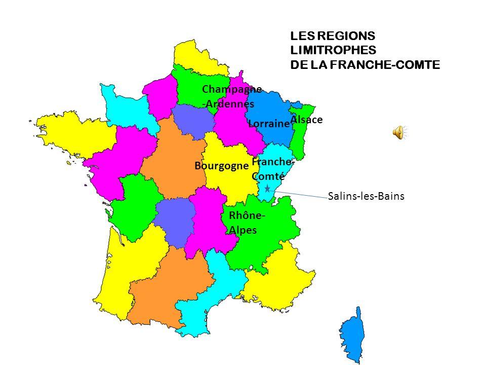 LES REGIONS LIMITROPHES
