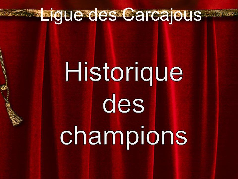 Historique des champions