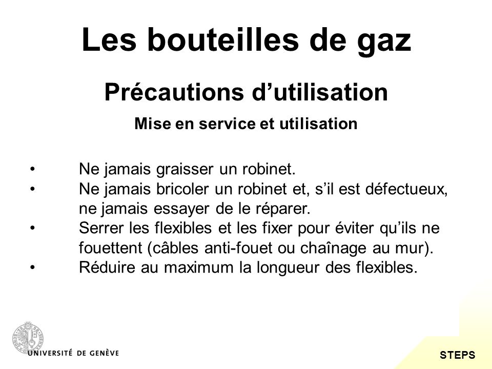 les bouteilles de gaz risques transport pr cautions d utilisation ppt video online t l charger. Black Bedroom Furniture Sets. Home Design Ideas