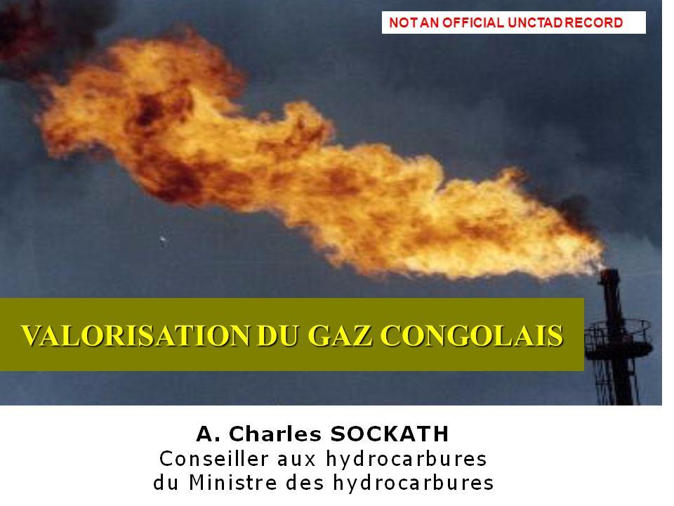 VALORISATION DU GAZ CONGOLAIS