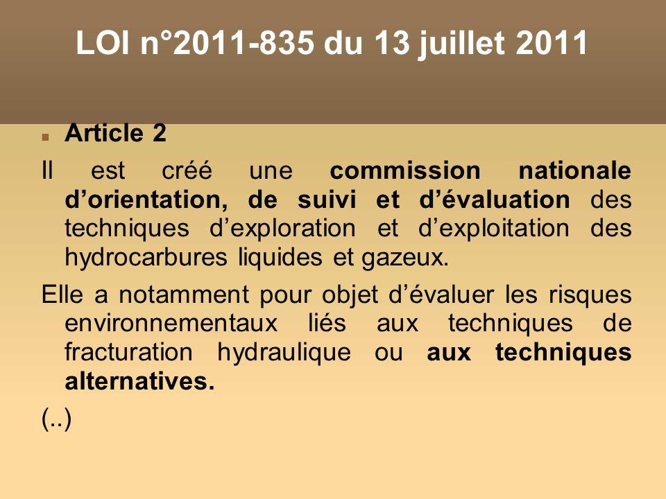 LOI n°2011-835 du 13 juillet 2011 Article 2