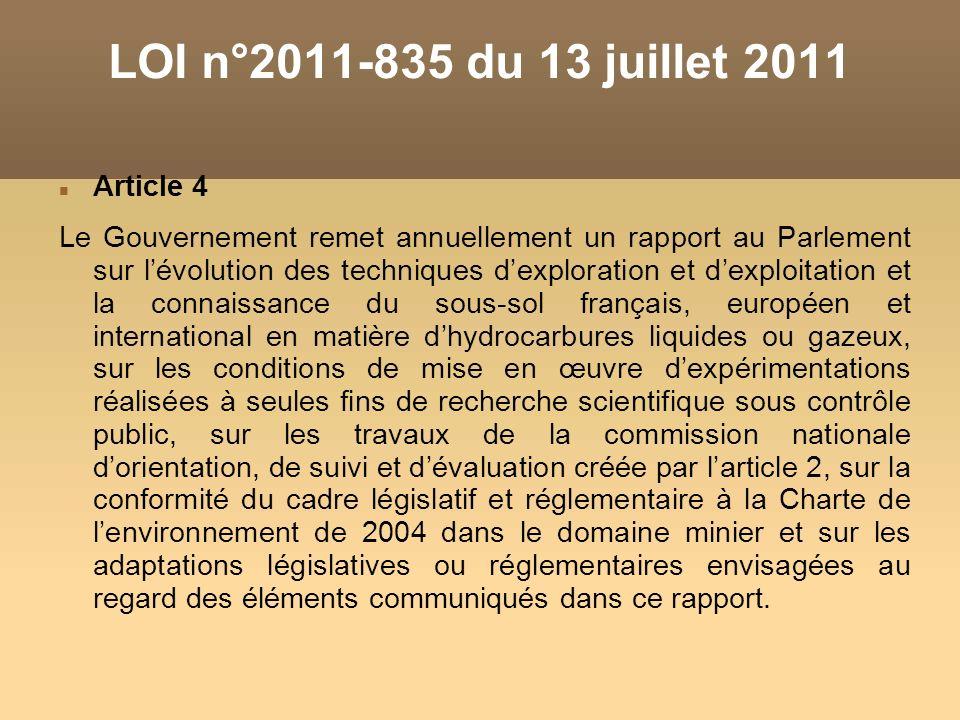 LOI n°2011-835 du 13 juillet 2011 Article 4
