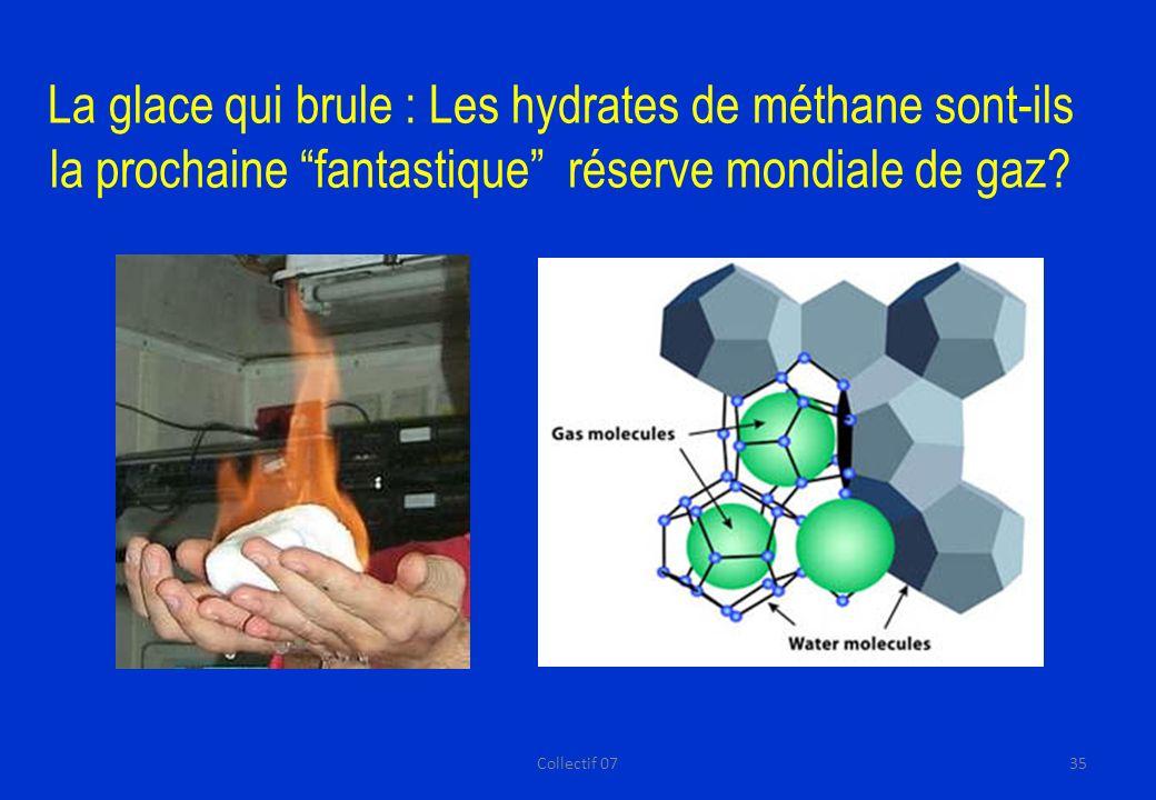 La glace qui brule : Les hydrates de méthane sont-ils la prochaine fantastique réserve mondiale de gaz