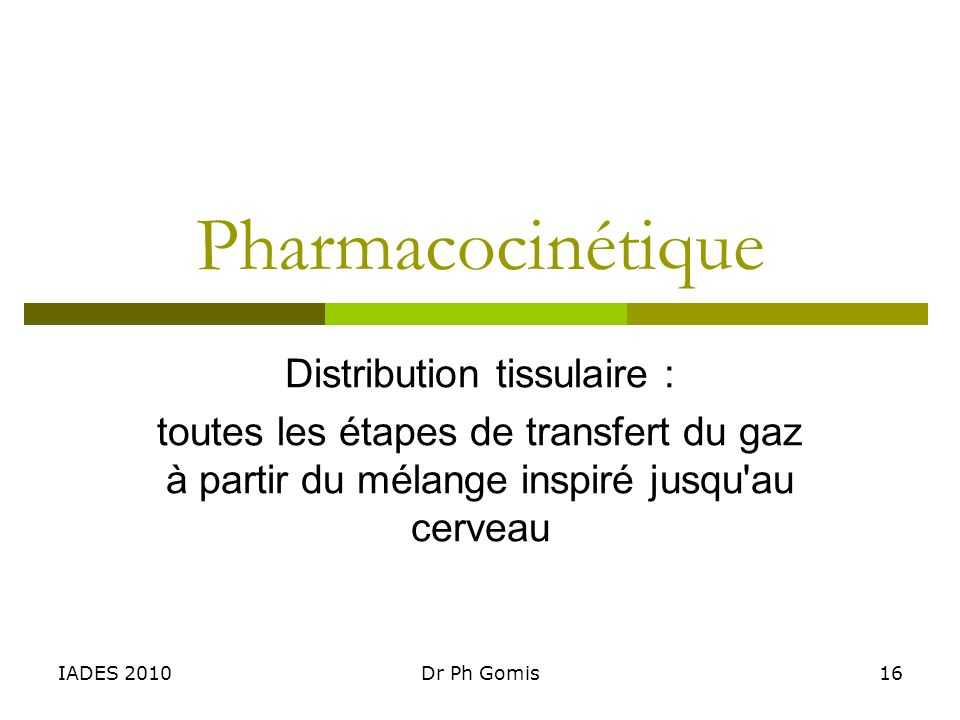 Distribution tissulaire :