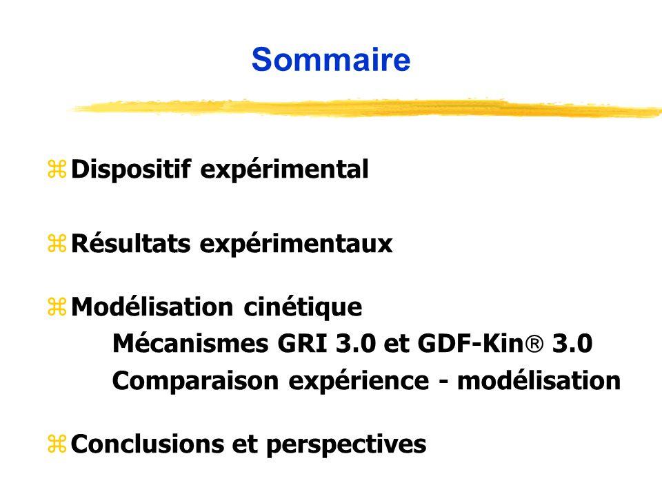 Sommaire Dispositif expérimental Résultats expérimentaux