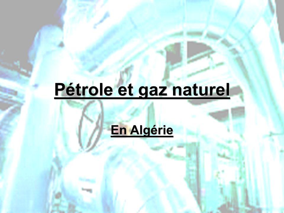 Pétrole et gaz naturel En Algérie PHLatimer@aol.com