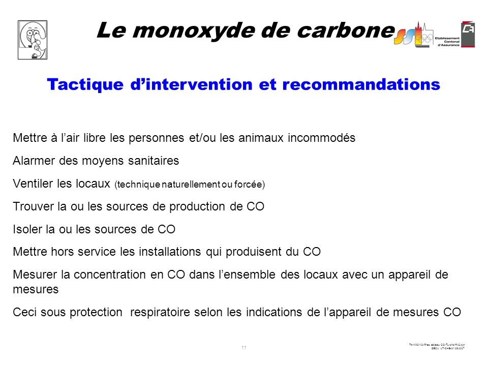 Tactique d'intervention et recommandations