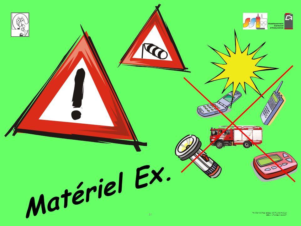 Matériel Ex.