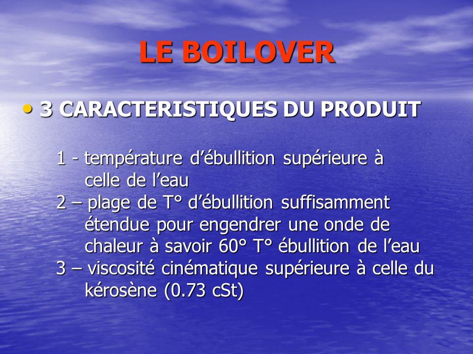 LE BOILOVER 3 CARACTERISTIQUES DU PRODUIT