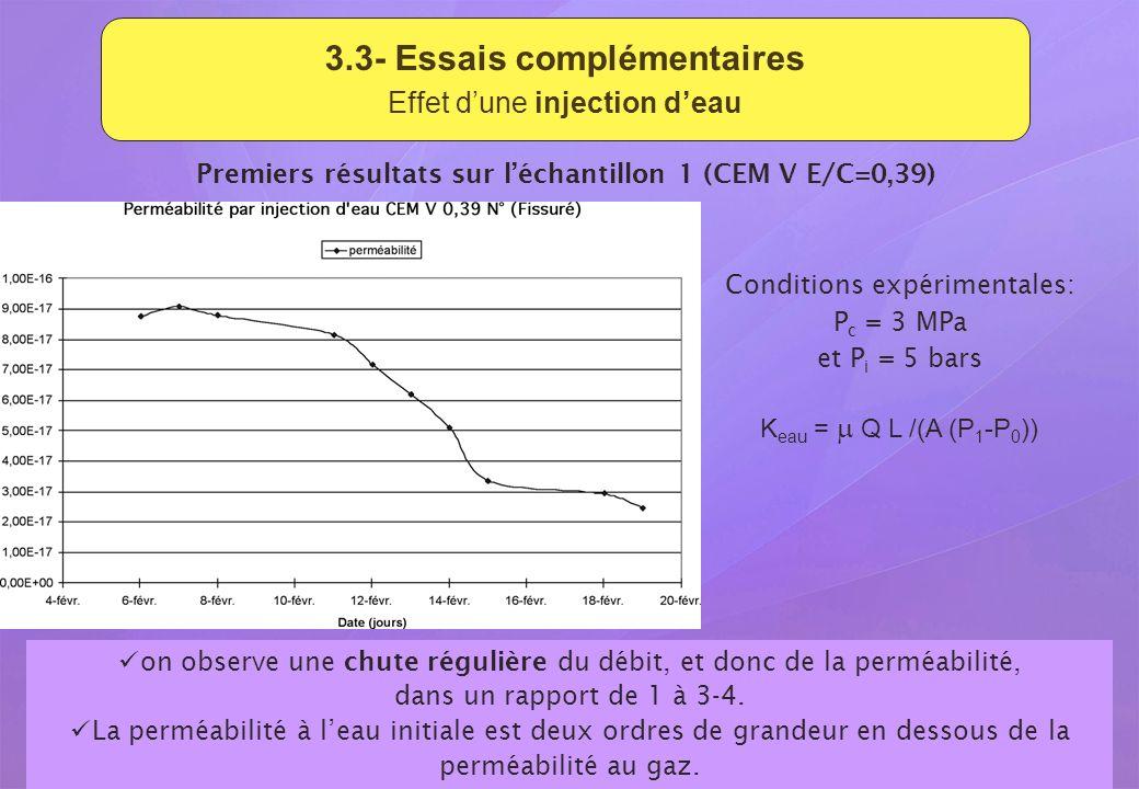 3.3- Essais complémentaires