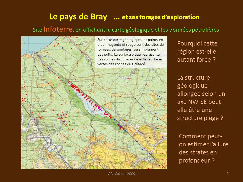Le pays de Bray … et ses forages d'exploration