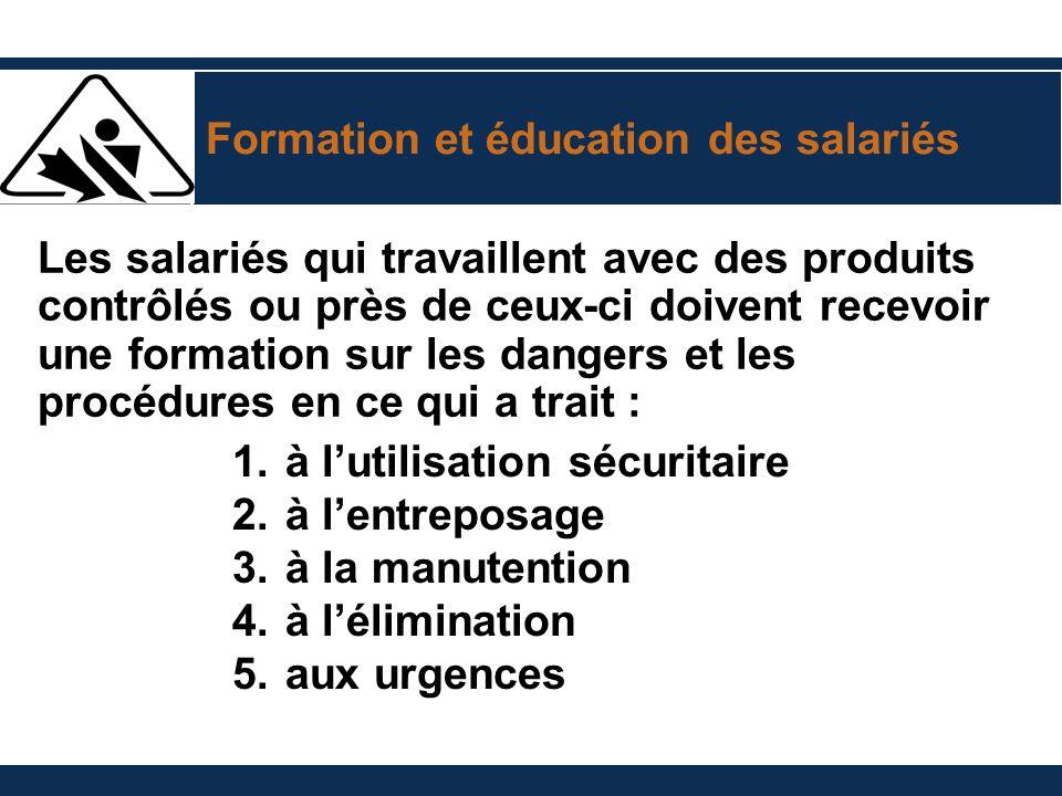 Formation et éducation des salariés
