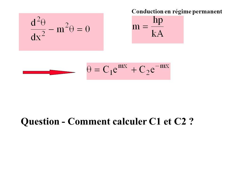 Question - Comment calculer C1 et C2