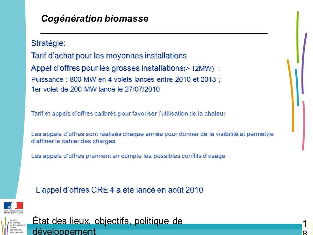 Cogénération biomasse