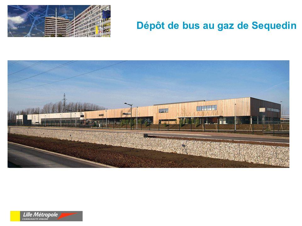Dépôt de bus au gaz de Sequedin