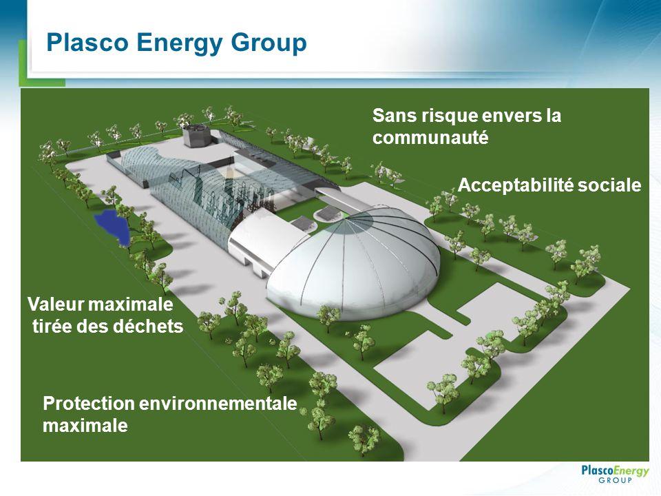 Plasco Energy Group Sans risque envers la communauté