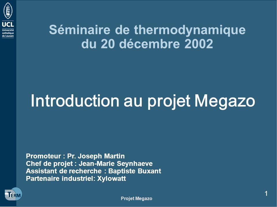 Séminaire de thermodynamique du 20 décembre 2002