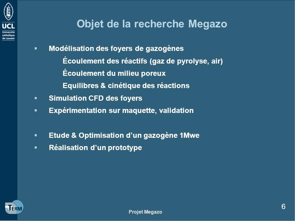 Objet de la recherche Megazo