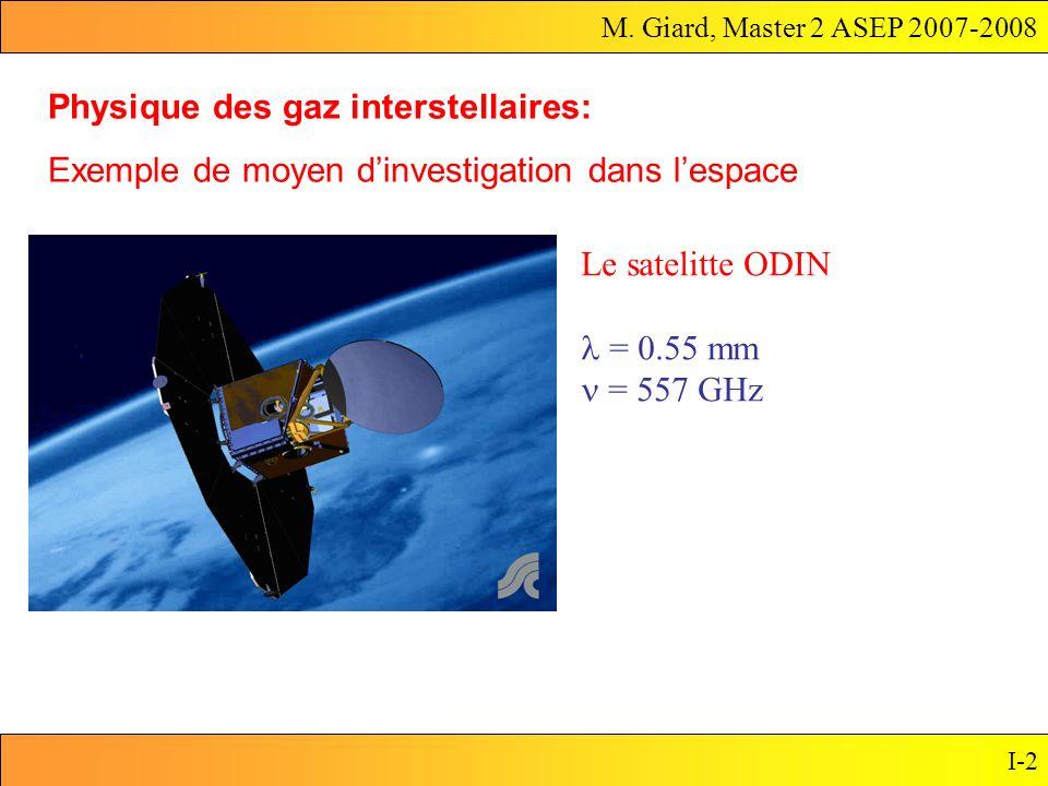 Physique des gaz interstellaires: