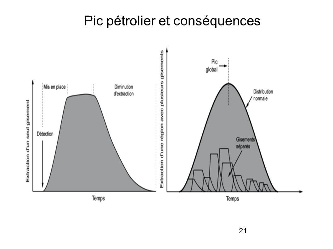 Pic pétrolier et conséquences