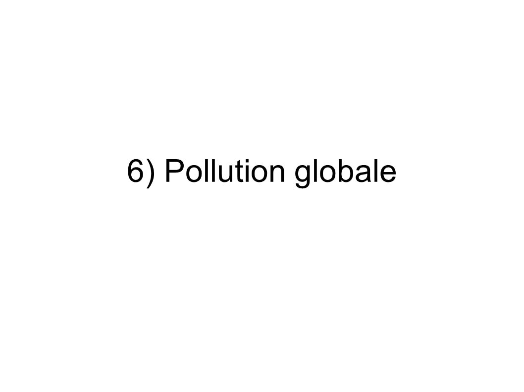 6) Pollution globale jhdhddbccc
