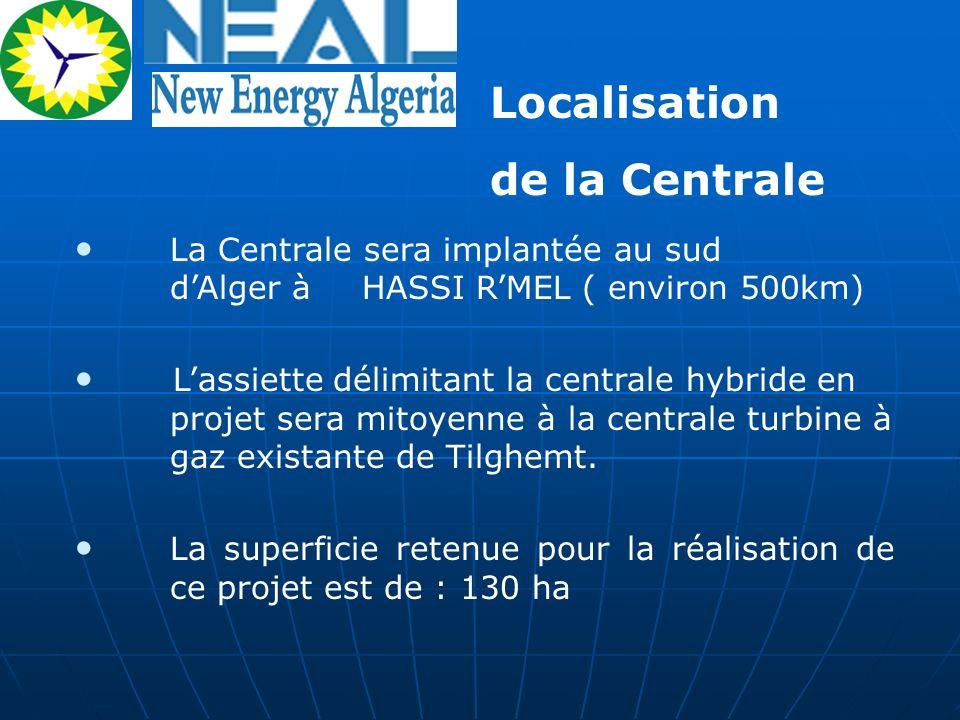 Localisation de la Centrale