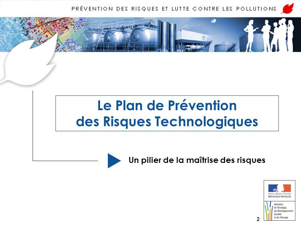 Le Plan de Prévention des Risques Technologiques