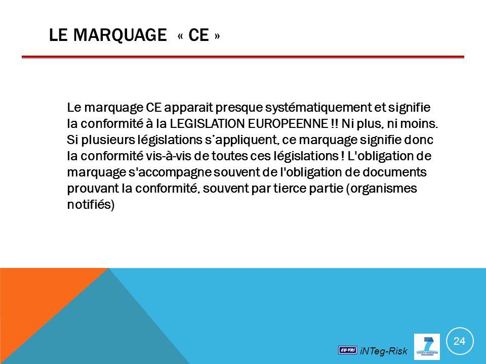 3/30/2017 LE MARQUAGE « CE »