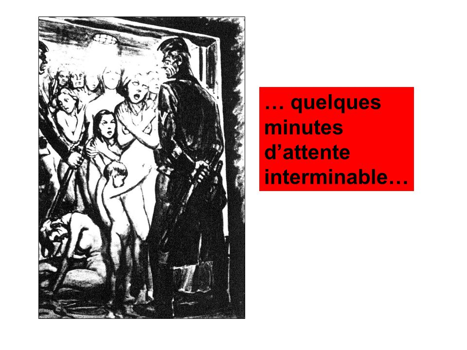 … quelques minutes d'attente interminable…
