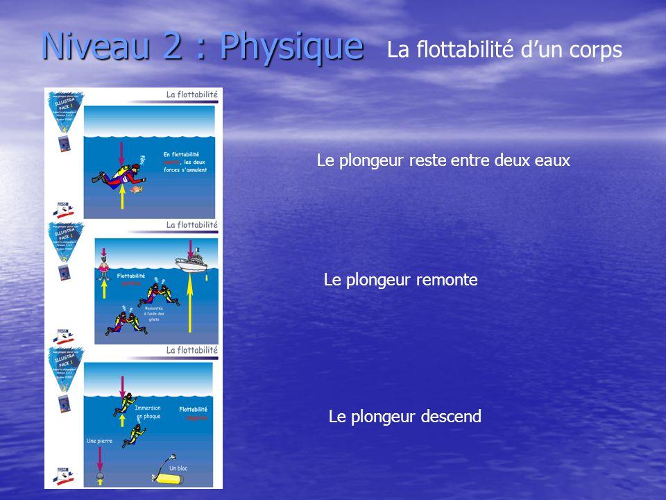 Niveau 2 : Physique La flottabilité d'un corps