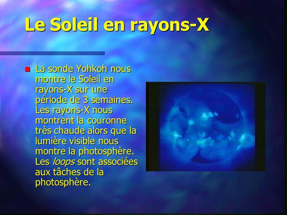 Le Soleil en rayons-X