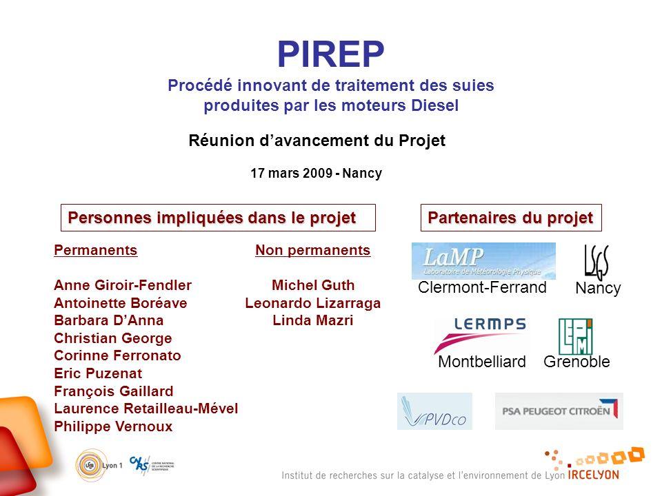 PIREP Procédé innovant de traitement des suies