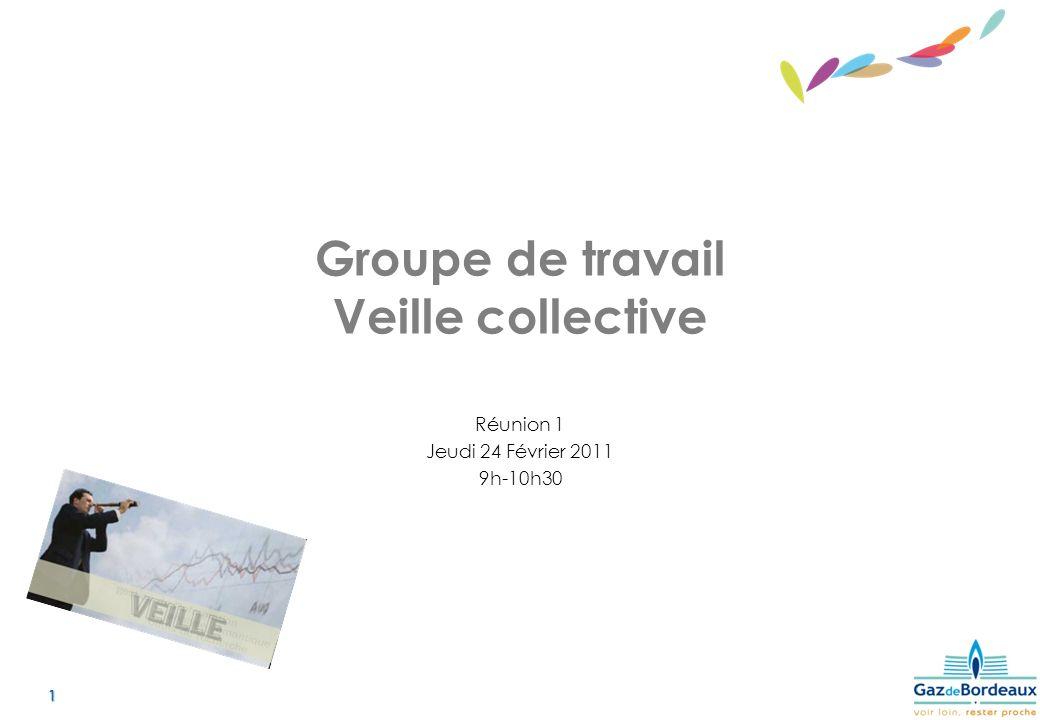 Groupe de travail Veille collective