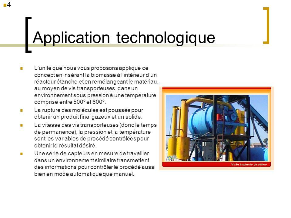 Application technologique