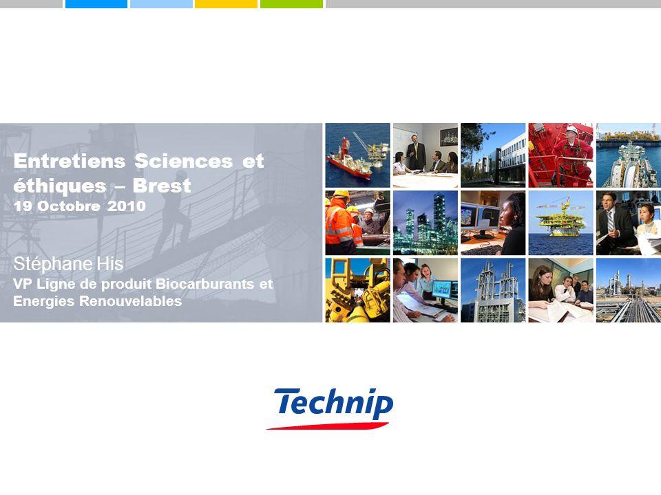 Entretiens Sciences et éthiques – Brest 19 Octobre 2010