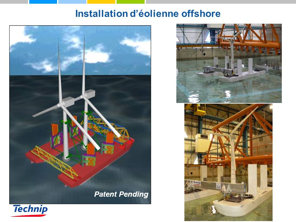 Installation d'éolienne offshore