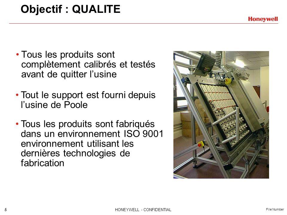 Objectif : QUALITE Tous les produits sont complètement calibrés et testés avant de quitter l'usine.