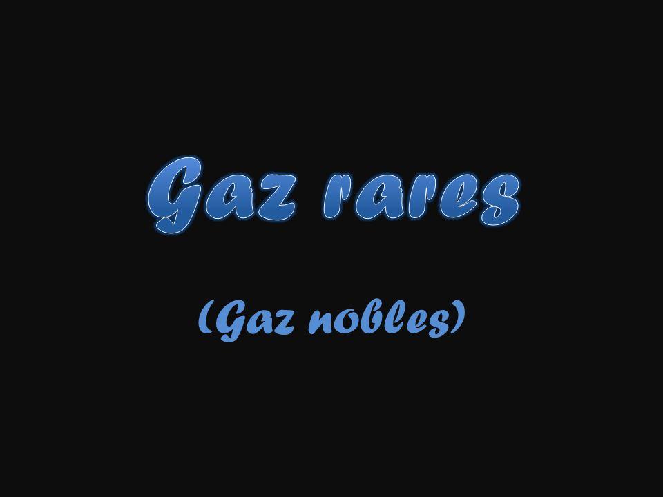 Gaz rares (Gaz nobles)