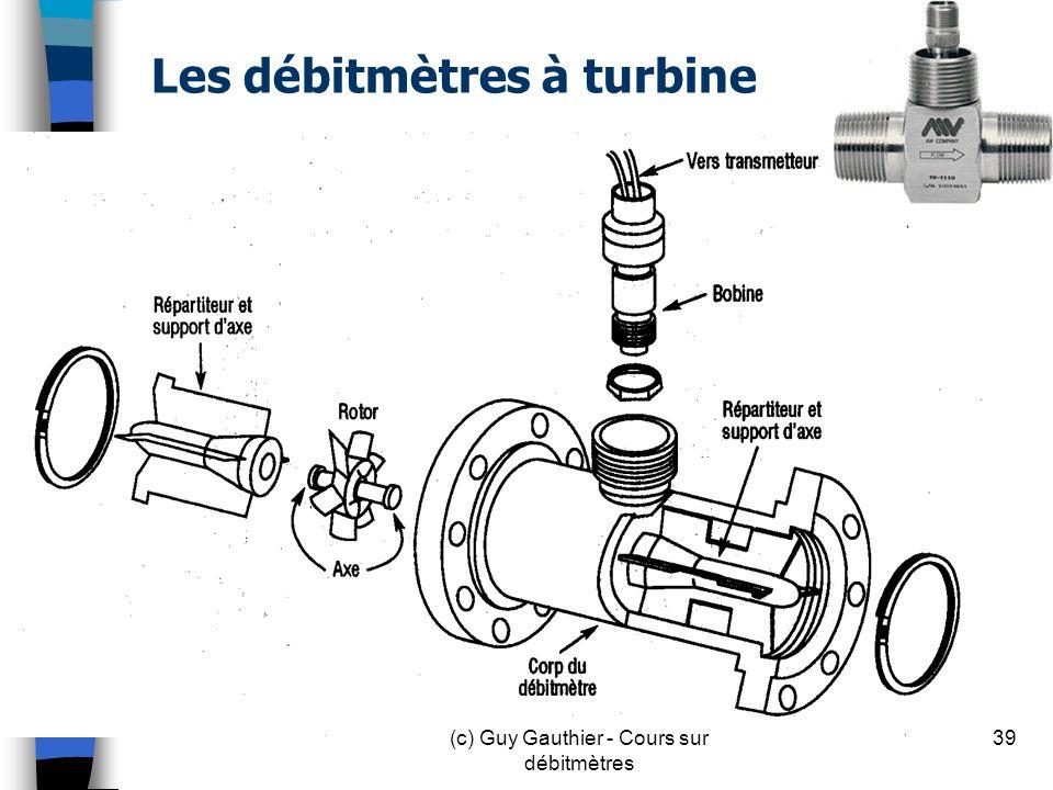 Les débitmètres à turbine