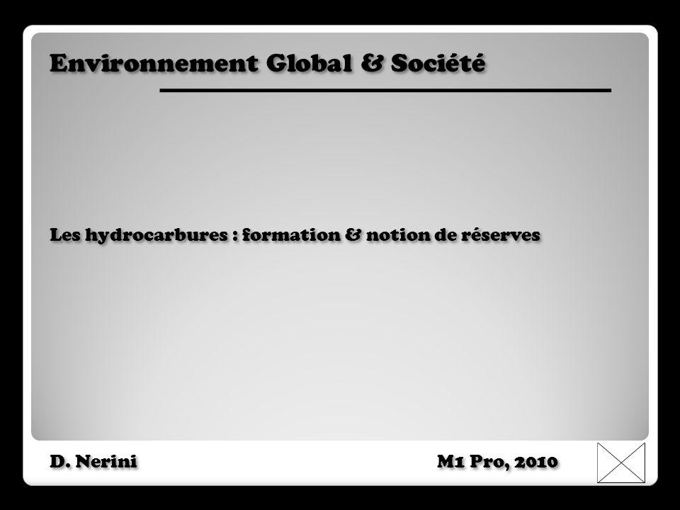 Environnement Global & Société