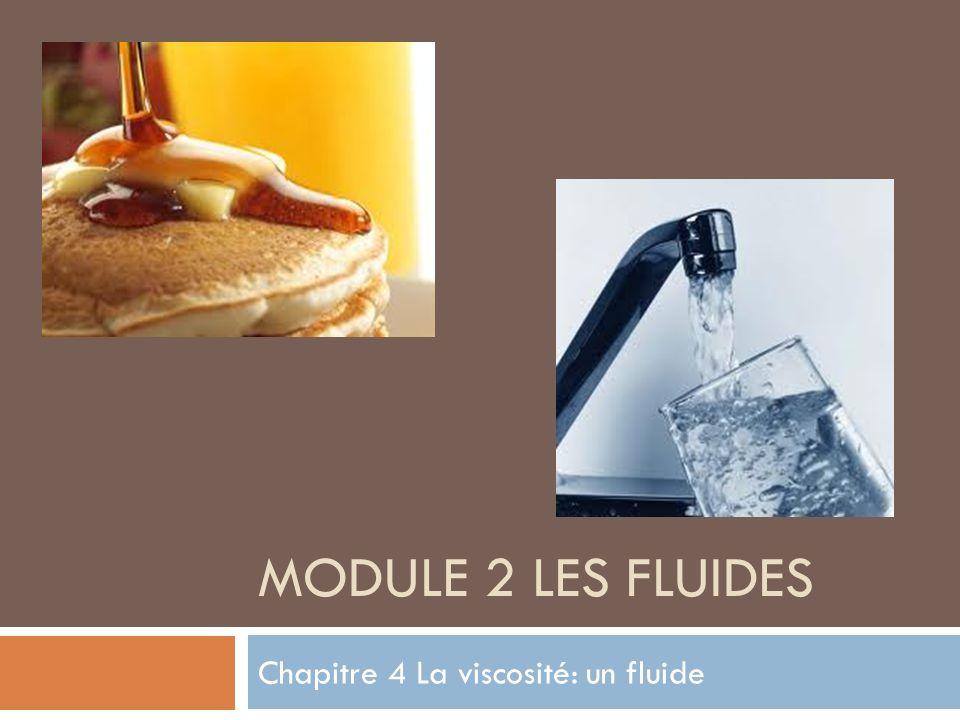 Chapitre 4 La viscosité: un fluide
