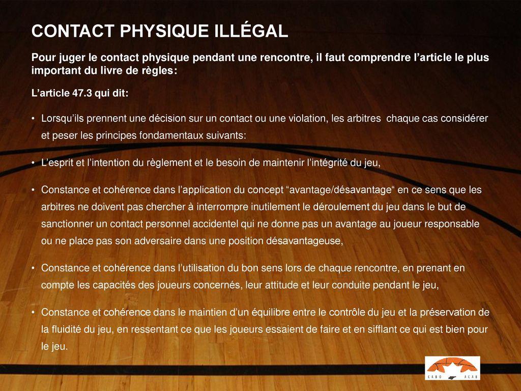 decharge illégale sanction